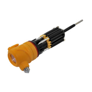 Multi-Screwdriver Torch with LED Powerful Flashlight and Yellow Head pictures & photos