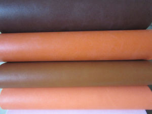 New1.6mm Micro-Fiber Like PU Leather for Shoes pictures & photos