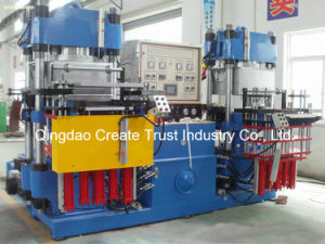 PLC Full Automatic Control Type Plate Vulcanizing Press with Two Station pictures & photos