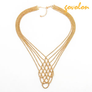 New Style Golden Alloy Necklace pictures & photos