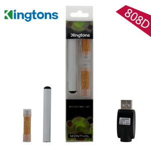 Best Selling in America! Kingtons 808d Mini Portable Disposable Vaporizer Starter Kit pictures & photos