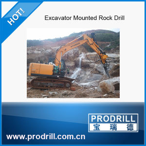 Pd-Y90 Hydraulic Excavator Mounted Drill Rig for Drilling pictures & photos