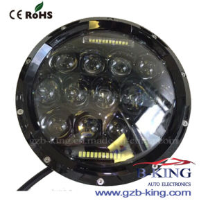 "7"" 75W LED Car Headlight with DRL for Wrangler pictures & photos"