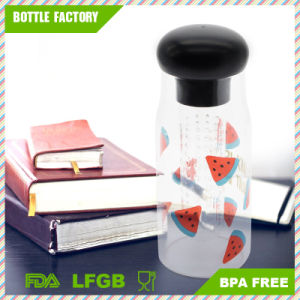 High Quality BPA Free Plastic Wide Mouth Infuser Water Bottle pictures & photos