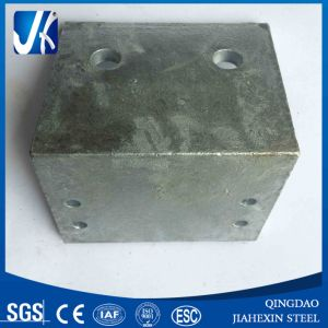 Galvanized Steel Angle Bracket with Drill Holes pictures & photos