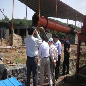 Capacity 1000-5000t/D Dry Processing Large Rotary Cement Kiln pictures & photos