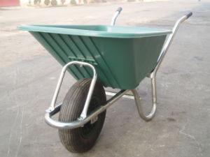 Wheel Barrow with Plastic Tray for Europe Model Wb6141s
