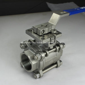 3PC Ball Valve with New Type Mounting Pad pictures & photos