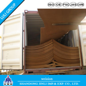 E1 MDF Plain Hard Board Types of Wood MDF pictures & photos