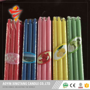 Color Taper Candle Scented Candle Wedding Decoration Candles pictures & photos