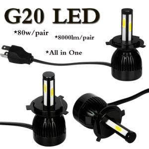 2016 Auto Accessory Car LED Headlight Kit H11 9007 9004 H13 H4 LED Headlight pictures & photos