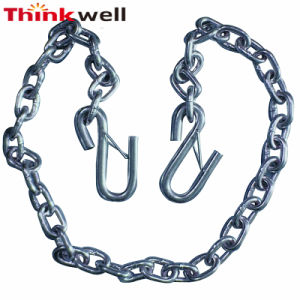 Galvanized Steel Forging 1/4 Inch Trailer Safety Chain pictures & photos