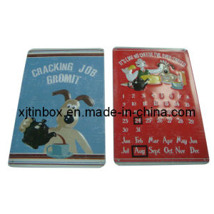 W&G Wall-Calendar Tin Sign with Magnetic-Iron, Gift Sign, Metal Sign, Tin Sign, Tin Board, Gift Board (XJ-004F)