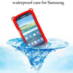 100% Sealed Protection Waterproof Shockproof Cellphone Case