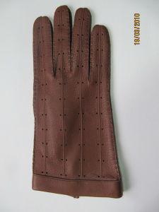 Men′s Fashion Leather Gloves (JYG-23055) pictures & photos