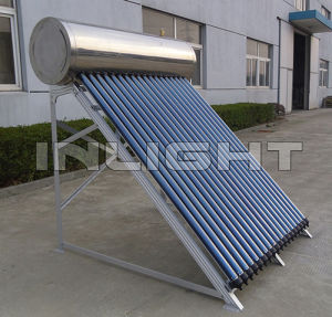 Compact High Pressure Stainless Steel Heat Pipe Solar Thermal Water Heater System pictures & photos