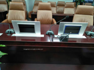 Video Conference Dual Screen LCD Lift Lgt-D185 a pictures & photos