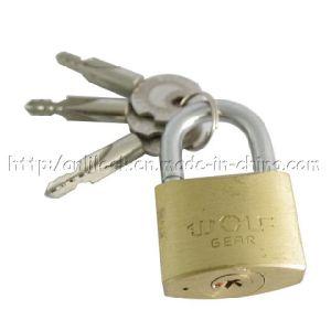 Cross Key Brass Padlock, Thick Type Brass Padlock (AL-405) pictures & photos
