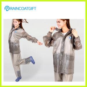 Waterproof Women′s PVC Rainwear (RVC-081) pictures & photos