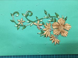 High Quality Garment Accessories Handmade Colour Embroidery Flower Ym-33 pictures & photos