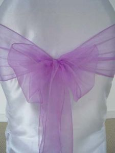 Lilac Decorate Chair Sash pictures & photos