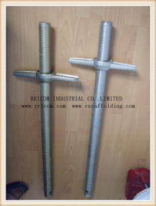 Galvanized Steel Scaffolding Deck Hollow Adjustable Shoring Screw Jack pictures & photos
