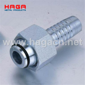 Bsp Female 60 Degree Cone Double Hexagon Hydraulic Hose Fitting pictures & photos