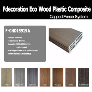 Eco Outdoor Composite Wood Decking WPC Wall Cladding