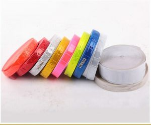 Safety Reflective PVC Tape, Sew-on Tape. Reflective Vest Tape pictures & photos