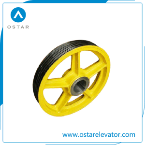 Elevator Pulley Sheave, Deflector Sheave, Lift Diversion Shevae (OS13) pictures & photos