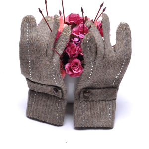 2015 Promotion Fashion Style Wool Touch Screen Gloves for iPhone, iPad (SNTG02-2) pictures & photos