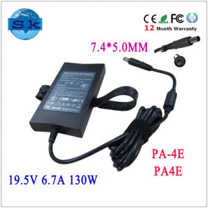 Batteries Chargers for DELL Slim PA-4e 130W 19.5V 6.7A PA-1131-02D2, X9366