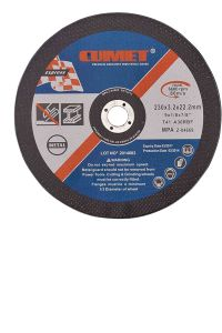 Cutting Disc for Metal (230X3.2X22.2mm) Abrasive with MPa Certificates pictures & photos
