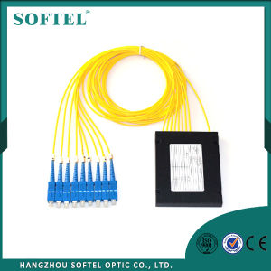 1550 PLC Splitter 1X8 Scpc Optical Fiber Splitter pictures & photos