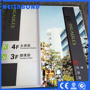UV Digital Printing ACP Aluminum Composite Panel for Advertising Industry pictures & photos