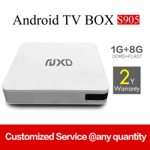 Android DVB-S2/T2/C/ISDB-T TV Box X8 with Customized APP Market pictures & photos