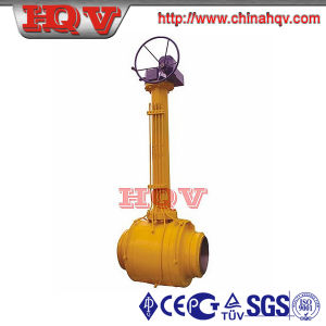Cast Steel Underground Welded Ball Valve