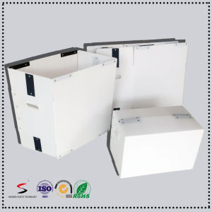 Flame Retarding PP Corrugated Plastic Packaging Box Postal Tote pictures & photos