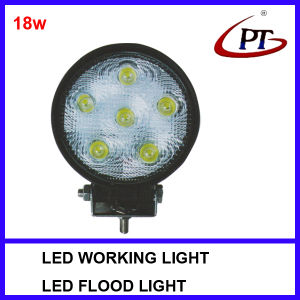 18W Offroad 4WD ATV Use LED Spot Light