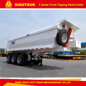 Tri-Axle U Shape Front Dump Semi Trailer pictures & photos