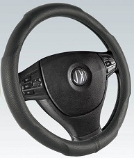 PVC with PU Steering Wheel Cover (BT7355) pictures & photos