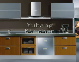 PVC Series Kitchen Cabinet (YB-113) pictures & photos
