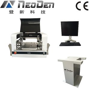 Pick and Place Machine Neoden4 with 4 Nozzle Equip Cameras and Vibration Feeder, LED Lighting pictures & photos