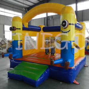 Finego Minions Inflatable Kids Jumping Bounces House From Factory pictures & photos