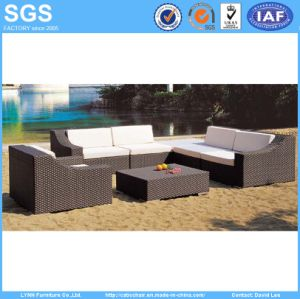 Rattan Furniture Combination Sofa Set with Coffee Table pictures & photos