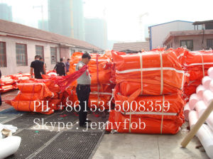 Solid Float PVC Oil Booms/Rubber Boom/Oil Fences pictures & photos