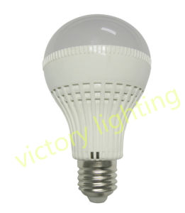 Plastic Aluminum 7W LED Bulb with Sensor pictures & photos