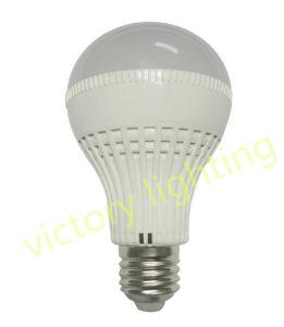 Plastic Aluminum 7W LED Bulb with Sensor pictures & photos