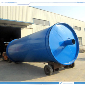 2015 Green Tyre to Oil Recycling Pyrolysis Plant 12tpd pictures & photos