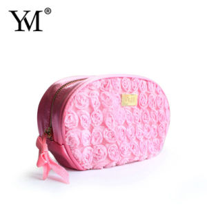 New Products 2016 Luxury Low Price Lace Custom Cosmetic Bags pictures & photos